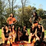Orange mode clothing women's wear